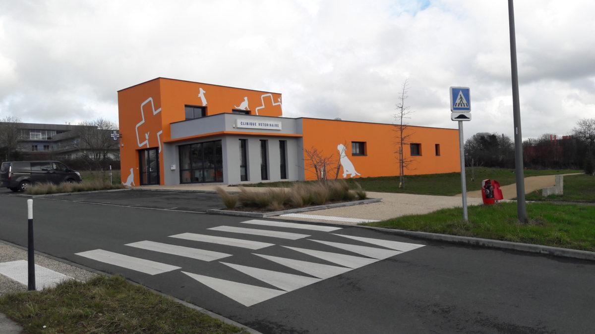 Bâtiment Tertiaire - CLINIQUE VETERINAIRE - Les Herbiers - 85 Vendée