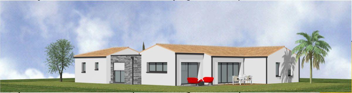 Maison neuve - 3D - SAINT FULGENT - 85 Vendée