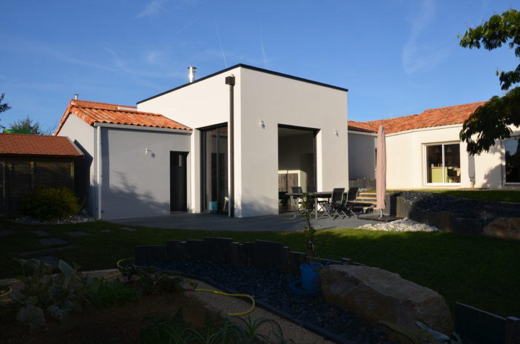 Extension maison - Saint Georges de Montaigu - 85 Vendée