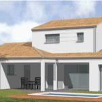 Maison neuve - 3D - LES SABLES D'OLONNE - 85 Vendée