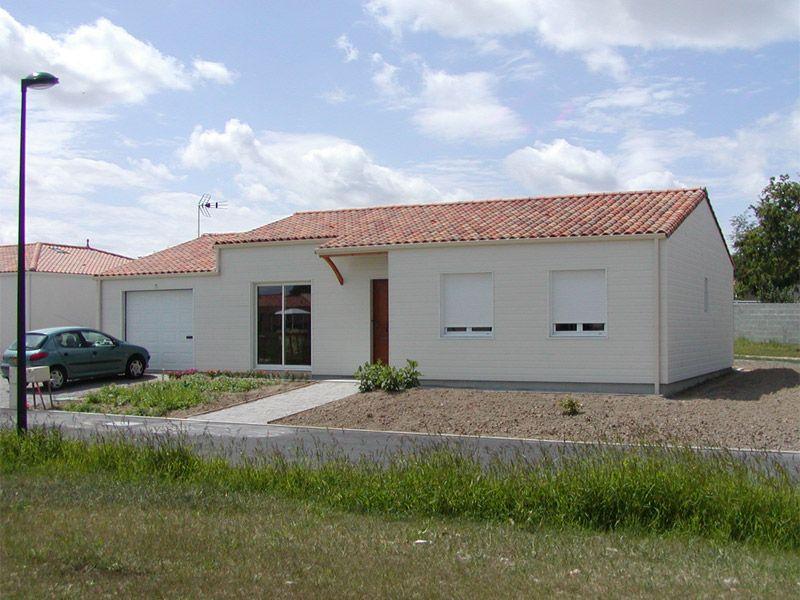 Maison bois - La Bruffière - 85 Vendée