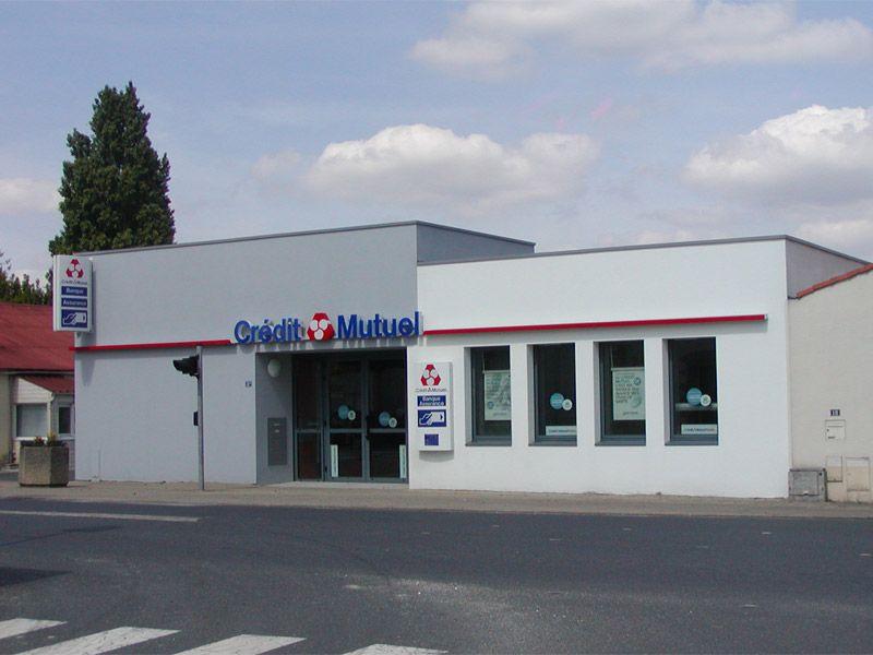Maîtrise d'œuvre - Crédit Mutuel - Saint Hilaire de Loulay - 85 Vendée