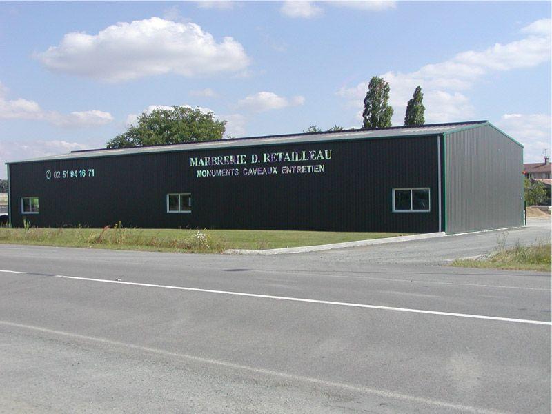 Maîtrise d'œuvre - Marbrerie D. Retailleau - La Guyonnière - 85 Vendée