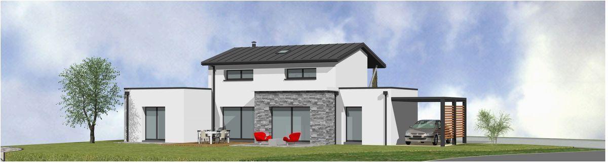 Maison neuve - 3D - Clisson - 85 Vendée